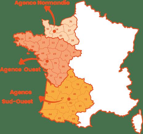 Vos agences ADP Industrie en France
