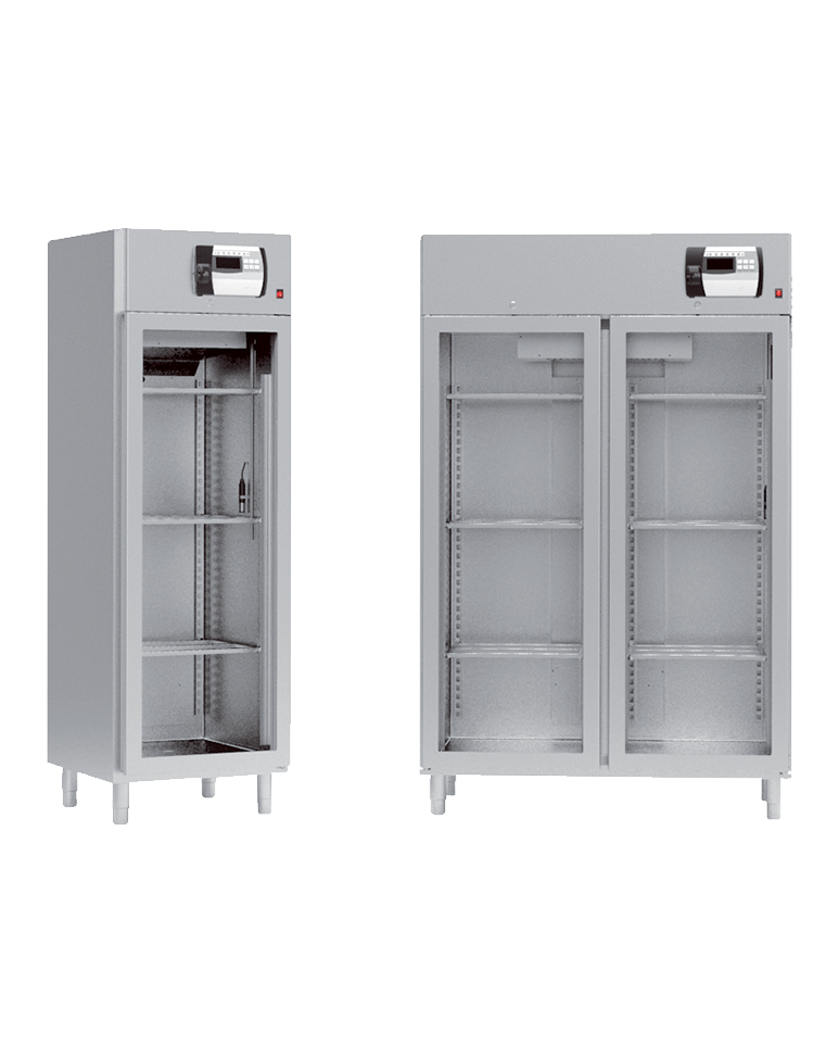 Armoires de séchage et d'affinage J 500 et J 1000 portes vitrées