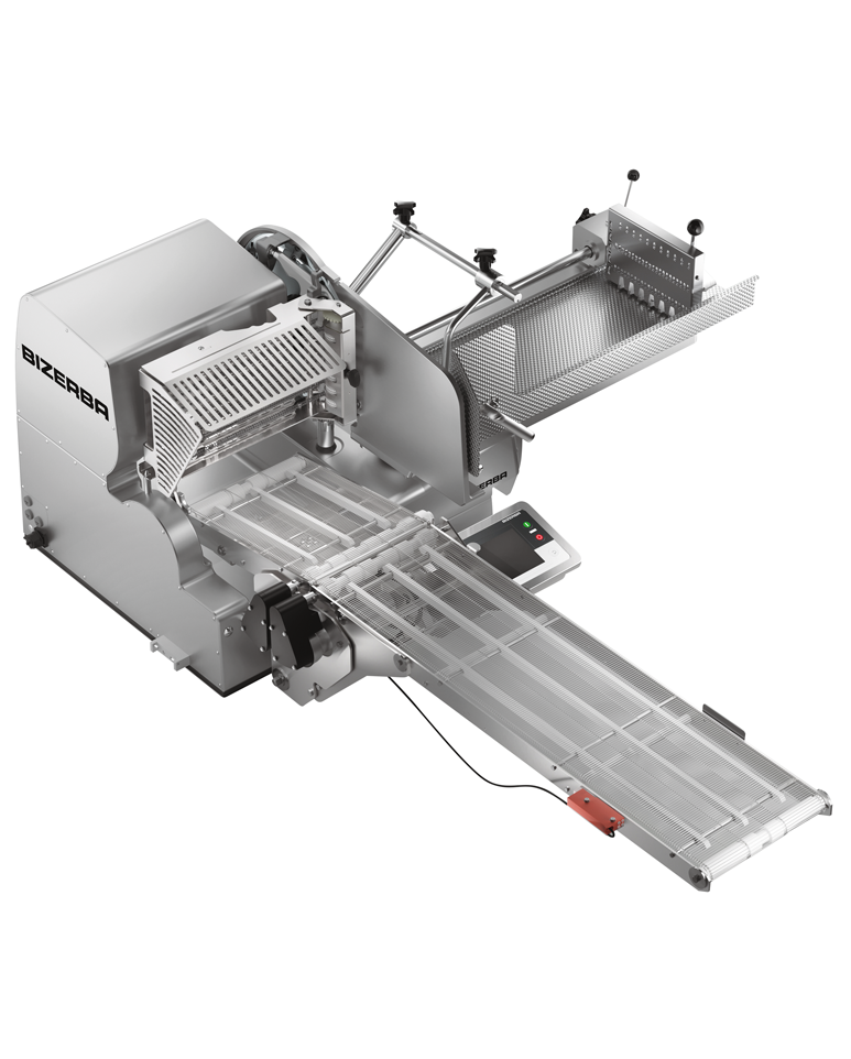 Trancheur vertical automatique VSI avec convoyeur