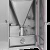Générateur à copeaux ou sciures intégré à la porte