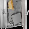 Générateur à friction intégré à la porte